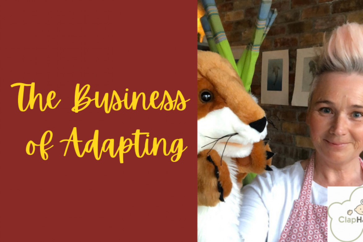 The Business of Adapting: Liza Crotty, ClapHandies