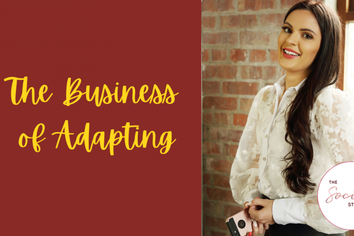 The Business of Adapting: April McManus, The Social Strategist