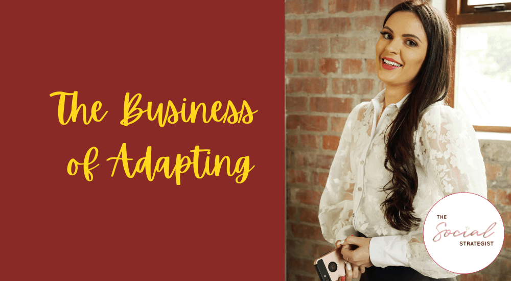 The Business of Adapting: April McManus, The Social Strategist